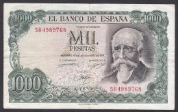 Spain - 1000 Pesetas - P.154 (1971) - F - [ 3] 1936-1975 : Régence De Franco