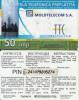 MOLDOVA - Moldcell Prepaid Card 50 Units, Used