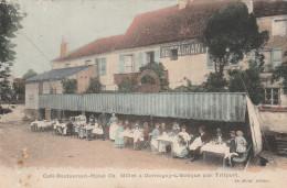 Café-Restaurant-Hotel Ch. Millet à Germigny-L'Evêque Par Trilport. - Animée. - Other Municipalities