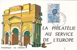 SEPTIEME EXPOSITION PHILATELIQUE  FRANCO ALLEMANDE RASTATT 30/31 MARS 1968 (dil59) - Expositions Philatéliques