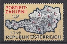 AUTRICHE 1966 Mi.nr.: 1201 Einführung Der Postleitzahlen  Oblitéré-Used-Gestempeld 1963 - 1945-.... 2de Republiek