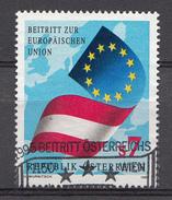 AUTRICHE 1995  Mi.nr.: 2146 Beitritt Österreichs Zur Europäischen Union  Oblitéré-Used-Gestempeld - 1945-.... 2ème République