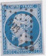 N° 14 Ba  / PC   593     CAMBRAI    /  NORD     LOT 14112 - 1853-1860 Napoleon III