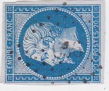 N° 14 A  / PC   656     CAUMONT   /  CALVADOS     LOT 14112   INDICE 7 - 1853-1860 Napoleon III