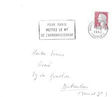 Flamme Secap Amgoulème Charente - Marcophilie (Lettres)