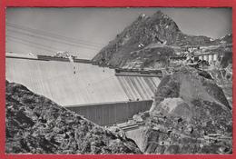 LA GRANDE DIXENCE, LE BARRAGE EN CONSTRUCTION - VS Valais