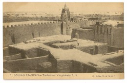 S5320  - 5 - Soudan Françsais - Tombouctou - Vue Générale - Soudan
