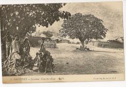 S5322  - 3 - Dahomey - Savalou: Coin Du Village - Dahomey