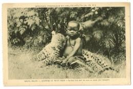 S5324  - Haute-Volta - Léopard Et Petit Noir - - Burkina Faso