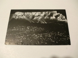Postcard/Postal - South Africa - Floodlit Table Mountain At Van Riebeeck Festival - Sudáfrica