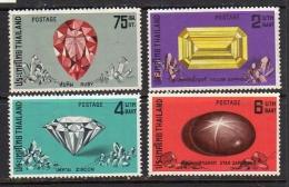 1972 Precious Stones MNH Very Fine Michel # 634-7 (t50) - Thaïlande