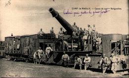 Camp De MAILLY - Canon De 240 M/m Batignolles - Matériel