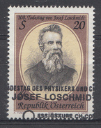 AUTRICHE 1995  Mi.nr.: 2163  100.Todestag Von Josef Loschmidt  Oblitéré-Used-Gestempeld - 1945-.... 2ème République