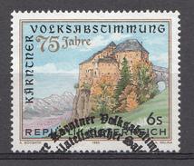 AUTRICHE 1995  Mi.nr.: 2172  75.Jahre Kärntner Volksabstimmung  Oblitéré-Used-Gestempeld - 1945-.... 2ème République