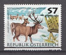 AUTRICHE 1997  Mi.nr.: 2216 Jagd Und Umwelt  Oblitéré-Used-Gestempeld - 1945-.... 2de Republiek