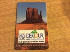 Rarer Prepaid Card -   - Fine Used - T.N.C  Der Tour Werbung -  Rare - - [2] Prepaid