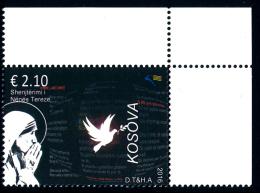 REPUBLIC OF KOSOVO 2016 Canonization Of Mother Teresa** - Kosovo