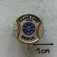 Badge (Pin) ZN003337 - Rowing / Kayak / Canoe Yugoslavia Macedonia Skopje World Championship 1975 - Canoeing, Kayak