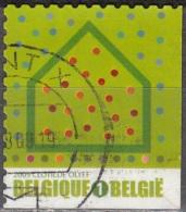 Belgique 2009 COB 3915A O Cote (2016) 1.70 Euro Iniatives écologiques Isolation Cachet Rond - Gebraucht