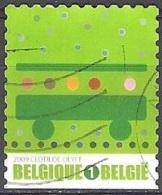 Belgique 2009 COB 3913 O Cote (2016) 1.70 Euro Iniatives écologiques Transport En Commun Cachet Rond - Belgien