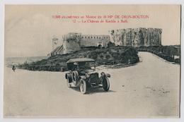 9000 Km Au Maroc En 10 HP De Dion-Bouton - Le Château De Kechla à Saffi - Otros