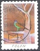 Belgique 2010 COB 4070 O Cote (2016) 1.70 Euro Folon Pays De Connaissance Cachet Rond - Gebraucht