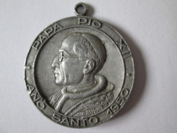 SPAIN MEDAL PAPA PIO XII ANO SANTO 1950/IV CONGRESO NACIONAL DE CATECISMO VALENCIA - Spanje