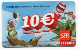 REUNION RECHARGE SFR 10€ Date 01/10 - Reunion