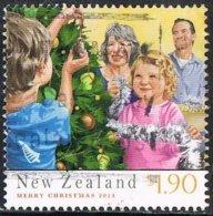 New Zealand 2013 Christmas $1.90 Sheet Stamp Good/fine Used [31/28075/ND] - Nuova Zelanda