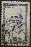 MARRUECOS 1956. King Mohammed V Of Morocco. DEFECTUOSO. USADO - USED. - Marruecos (1956-...)