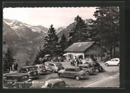 AK Filzbach, Autos Am Café Kerenzer Berghus - GL Glaris