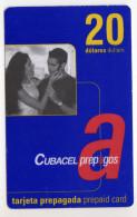 CUBA RECHARGE GSM 20$ Date 12/08 - Cuba