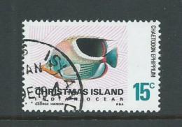 Christmas Island 1968 Fish Definitives 15c Later Issue FU - Christmas Island