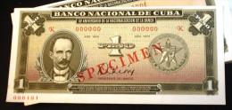 Unico Billete Conmemorativo (UNC SPECIMEN), Durante Los Primeros 40 Años De La Revolución Cubana - Cuba
