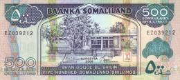 SOMALILAND P.  6f 500 S 2006 UNC - Banconote