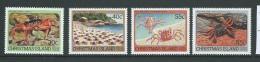 Christmas Island 1984 Land Crab Set 4 MNH - Christmas Island
