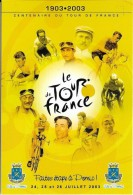 1903-2003 Centenaire Du Tour De France - Faites étape à Pornic ! - Cyclisme