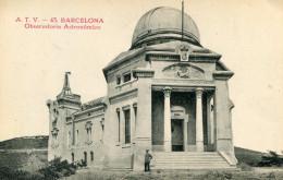 OBSERVATOIRE(BARCELONA) - Astronomie