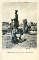 Mitaria - Campagne Du Maroc (1907-1908) - Casablanca - Famille  Sénégalaise Faisant La Lessive - Casablanca