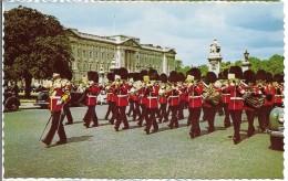 CPM - ENGLAND - LONDON  - Guards  Band  Near  Bucckingham Palace  . - Buckingham Palace