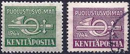 Finland 1944 - Military Mail ( Mi M6/M7 - YT M6/M7 ) - Finland