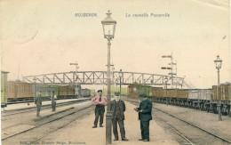 Mouscron -Top Carte - La Nouvelle Passerelle -Cheminots -1906 ( Voir Verso ) - Mouscron - Moeskroen