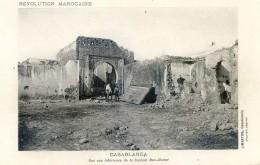 Mitaria - Revolution Marocaine - Casablanca - Une Vue Intérieure  De La Casbah Ben-Ahmet - Casablanca