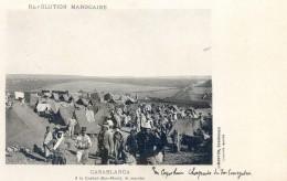 Mitaria - Revolution Marocaine - Casablanca -  A Casbah Ben Ahmet Le Marché - Capitaine Chapuis - Casablanca
