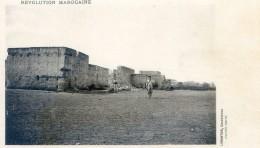 Mitaria - Revolution Marocaine - Casablanca -  Vue De Ber Rechid ( Coté Nord ) - Casablanca