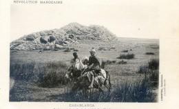 Mitaria - Revolution Marocaine - Casablanca - Rochers Sur La Route De Ca Casbah Ben Ahmet - Casablanca