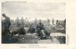 Mitaria - Revolution Marocaine - Casablanca - A Médouina - Campement De Tirailleurs Sénégalais - Casablanca