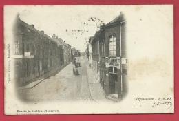 Mouscron - Rue De La Station - Estaminet A. Imbrecht  - 1902  ( Voir Verso ) - Mouscron - Moeskroen