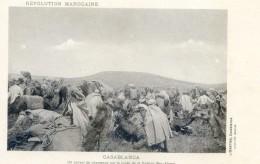 Mitaria - Revolution Marocaine - Casablanca - A Médouina - Un Convoi De Chameaux Sur La Route De La Casbah Ben Ahmet - Casablanca