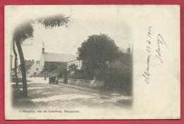 Mouscron - L´Hospice, Rue De Courtrai  - 1902  ( Voir Verso ) - Mouscron - Moeskroen